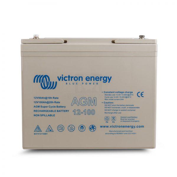 Victron 12V/100Ah AGM Super Cycle Battery (M6)
