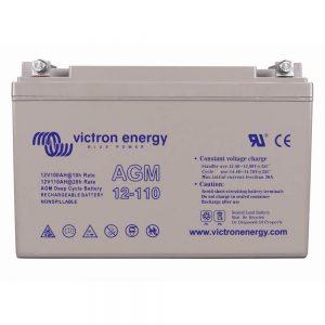12V/110Ah AGM Deep Cycle Battery (M8)