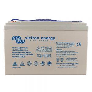 12V/125Ah AGM Super Cycle Battery (M8)