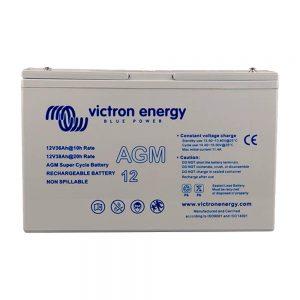 12V/25Ah AGM Super Cycle Battery (M5)