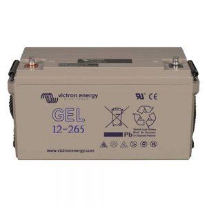 12V/265Ah GEL Deep Cycle Battery (M8)