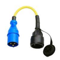 Victron Energy Adapter Cord 16A/250V-Schuko plug/CEE Coupling
