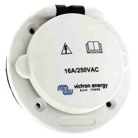 Victron Energy Power Inlet Polyamid with cover 16A/250Vac (2p/3w)