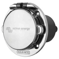 Victron Energy Power Inlet stainless with cover 16A/250Vac (2p/3w)